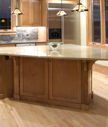 Kitchen with Laminate Flooring, Laminate Flooring in San Antonio, TX